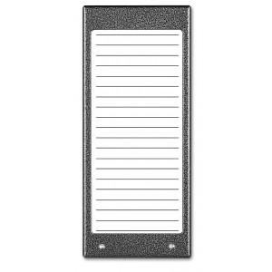 ACO CDN-17N GR Podświetlany panel listy lokatorów (ok. 17 wpisów)