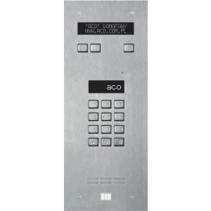 ACO INSPIRO 3 Centrala Master, 255 lokali,LCD, czytniki kart, stal nierdzewna