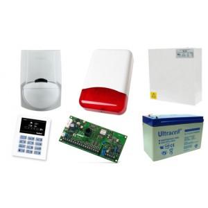 Alarm Satel CA-5 LED, 2xLC-100 PI, syg. zew. Beewell