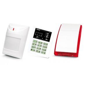 Alarm Satel CA-6 LED, 5xAqua Plus, syg. zew. SP-4001