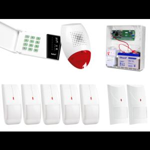 Alarm Satel CA-6 LED, 5xIvory, 2xCobalt Pro, syg. zew. SP-500