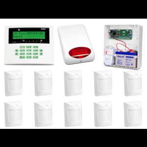 Alarm Satel CA-10 LCD, 10xAmber, syg. zew. SPL-5010