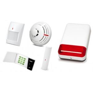 Alarm Satel Micra LED, 6xMPD-300, MMD-300, MSD-300, syg. zew. SPL-2030