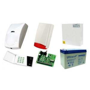 Alarm Satel CA-4 LED, 1xBingo, syg. zew. Beewell
