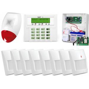 ALARM SATEL VERSA 10 LCD, 8xGRAPHITE PET, SP-500, GPRS-T2