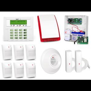 ALARM SATEL VERSA 10 LCD, 6xAQUA PET/1xDG1-CO/2xFD, SP-4003, GPRS-T2
