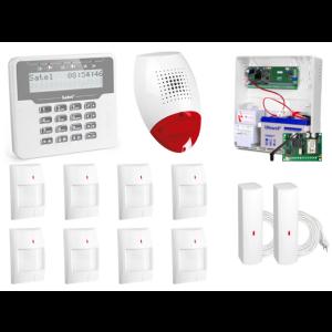 ALARM SATEL VERSA 10 LCD, 8xTOPAZ/2xFD, SP-500, GPRS-T2
