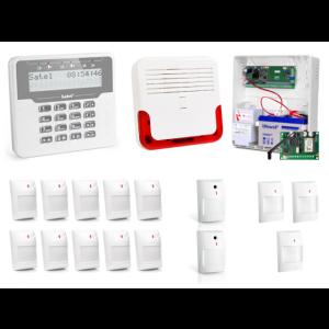 Alarm Satel Versa 15 LCD, 10xAQUA+/2xNAVY/3xGREY, SD-6000, GPRS-T2