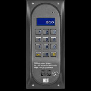 ACO CDNP6ACCS ST CENTRALA DOMOFONOWA grzałka LCD. RFID SLAVE