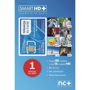 KARTA STARTOWA SMART HD+ 1 MIESIĄC
