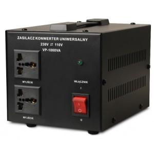 Transformator VOLT POLSKA 230V/110V 1000VA