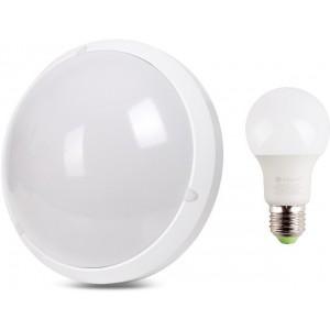 Zestaw Lampa Led Automatyczna Czujnik Ruchu Mv E27 1x żarówka Led 10w