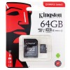 Karta pamięci Kingston Canvas Select 64GB microSDXC  CL10 UHS-I Card + SD Adapter