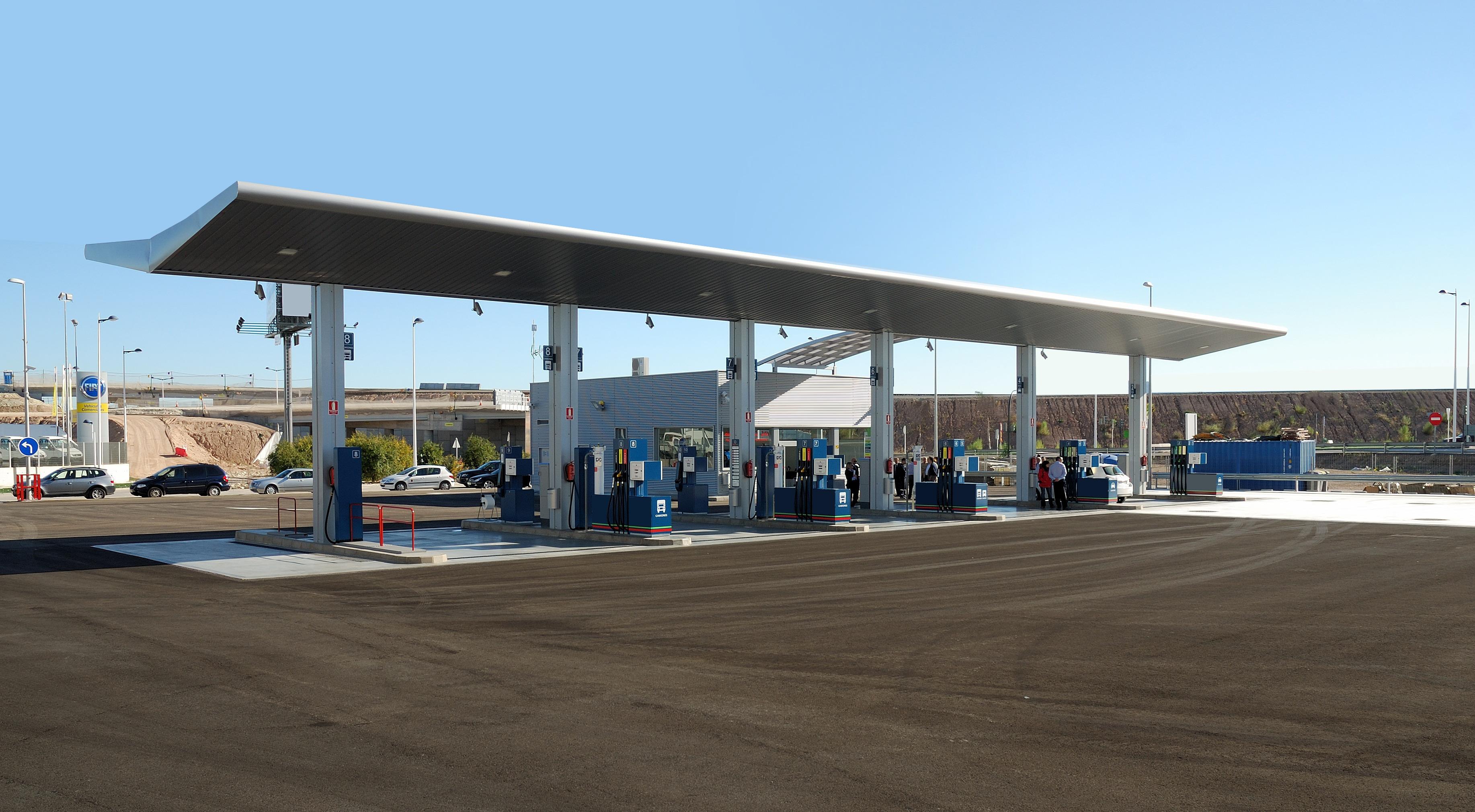 System monitoringu stacji benzynowej