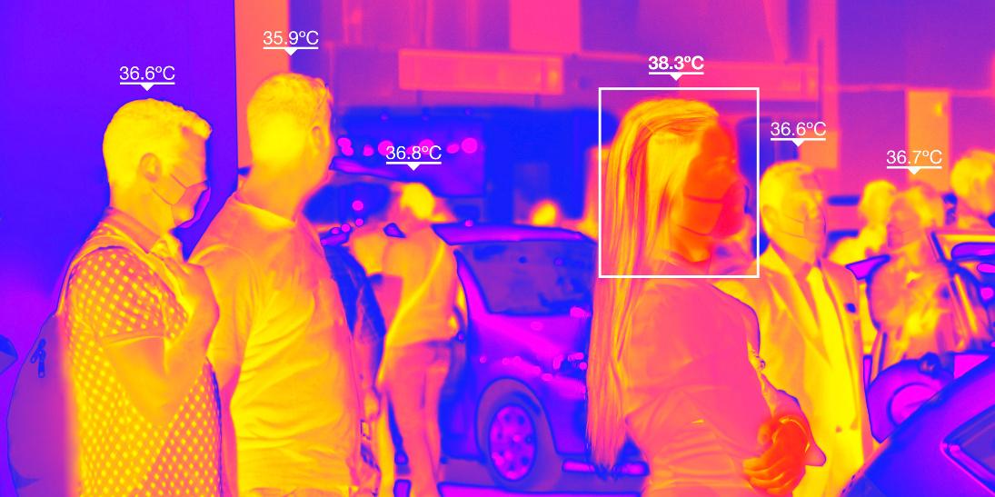 Kamery termowizyjne w obronie przed koronawirusem